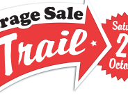 Trade your treasure at the Garage Sale Trail